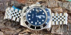Bliger Black Submariner - Wristwatch - Modern >2000