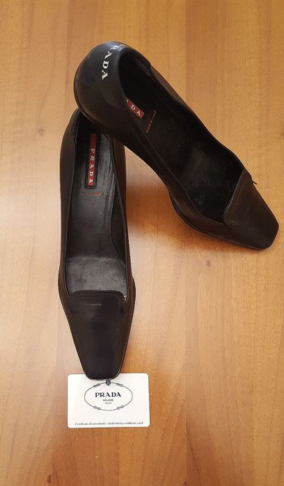 PRADA - Women's court shoes - Size: 37.5 (IT) - MADE IN ITALY