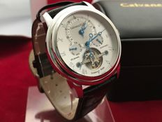 Calvaneo 1583 Evidence Platin Arctic Ice – Men's wristwatch – Never worn, in mint condition.