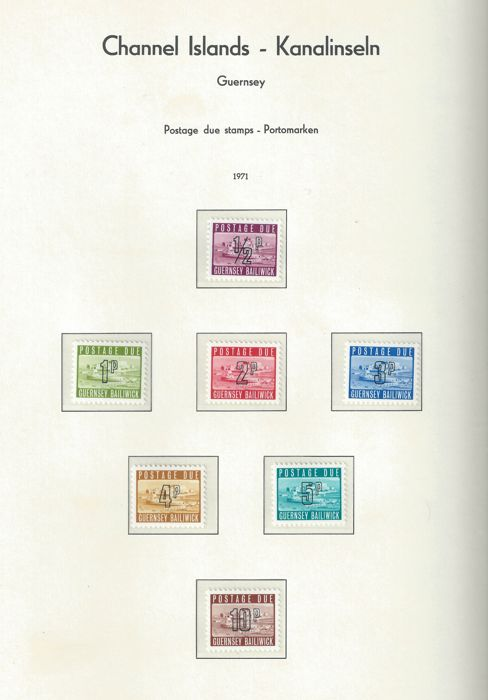 Channel Island Stamps