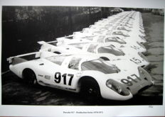 Great Photo Print - Porsche 917 - Production Series 1970/1971