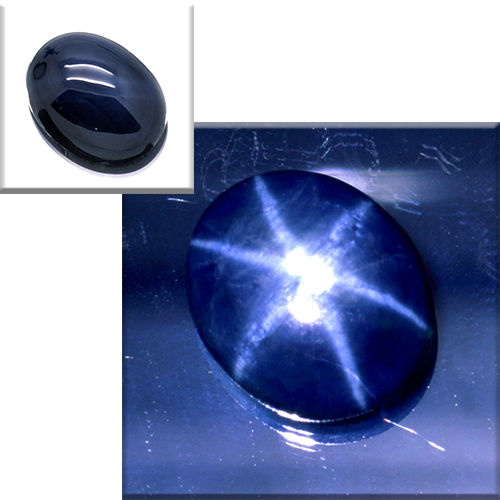 Star sapphire – 6.66 ct – No reserve price