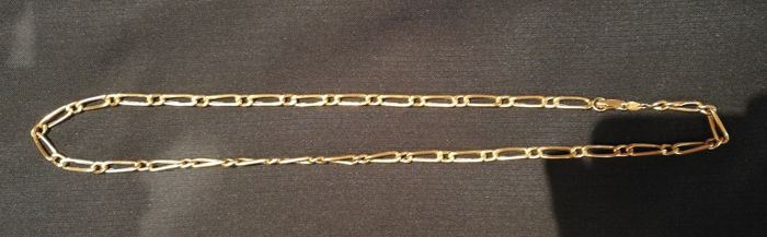Men's 18 kt gold necklace -- 61.5 cm