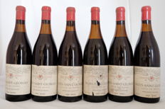 1976, Nuits Saint Georges, Cote de Beaune, Bourgogne, Boon Hecking, France - 6 Bottles.
