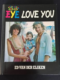 2x Ed van der Elsken (1925-1990) - Eye love you & Jazz