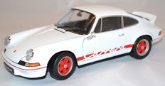 Welly - Schaal 1/18 - Porsche 911 Carrera 2.7 RS 1973 - Wit