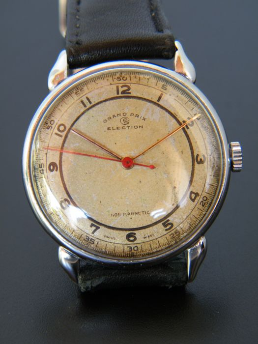 ELECTION GRAND PRIX - Men's wristwatch from 1940s - Good condition.