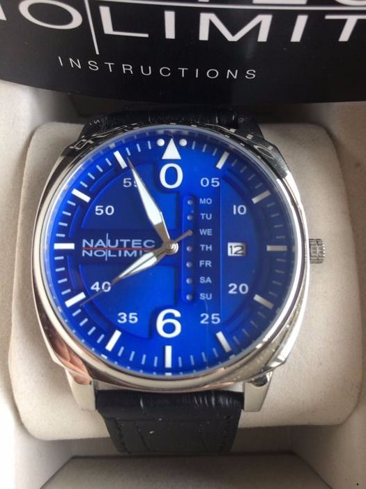 Nautec No Limit Vanguard 2 Leather Steel Blue