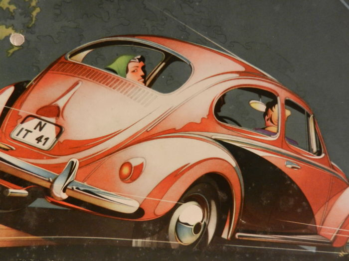 VOLKSWAGEN Beetle brochures and documentation 1960s and 1970s 12 items