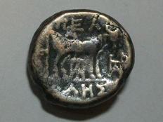 Ancient Greece - MACEDONIA - Province of Macedonia - PELLA - United AE (c. 187-31 BC)