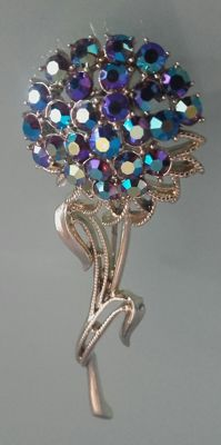 Coro – Large siged brooch – New York – 1960s