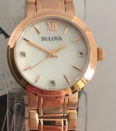 Bulova women's diamond watch. Unworn.
