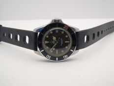 Venus Submariner with Rolex dial and hands, very very rare timepiece with men's strap