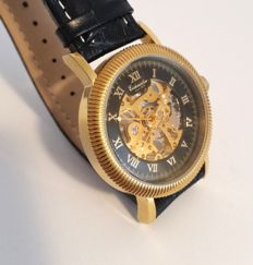 Eichmüller skeleton – men's wristwatch