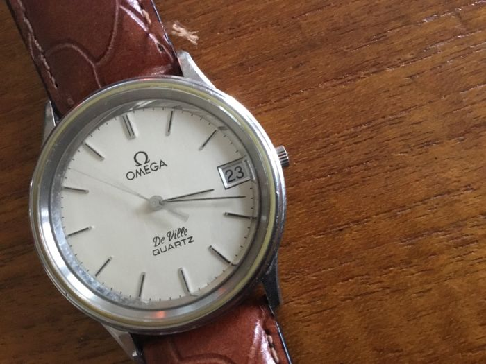 Omega de ville, mens Watch, from the early or mid 1970.