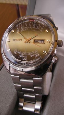 ORIENT XXL Royal - (Imperial) - Made in Japan - men,s - 1980/90s - 21 Jewels - Automatic - Big line
