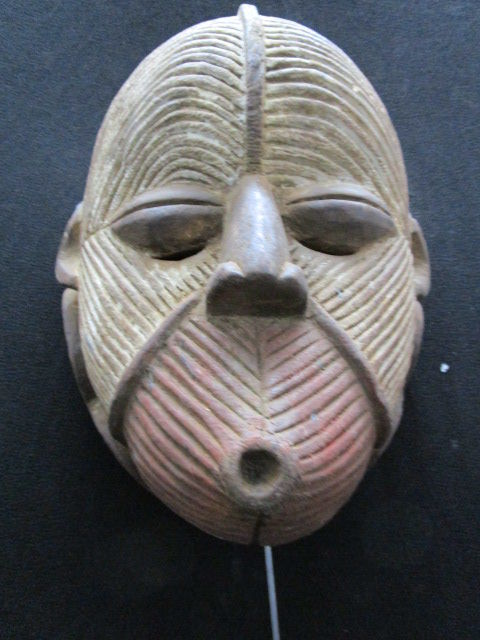 Splendid mask, SONGYE or SONGUE KIFWEBE - Congo