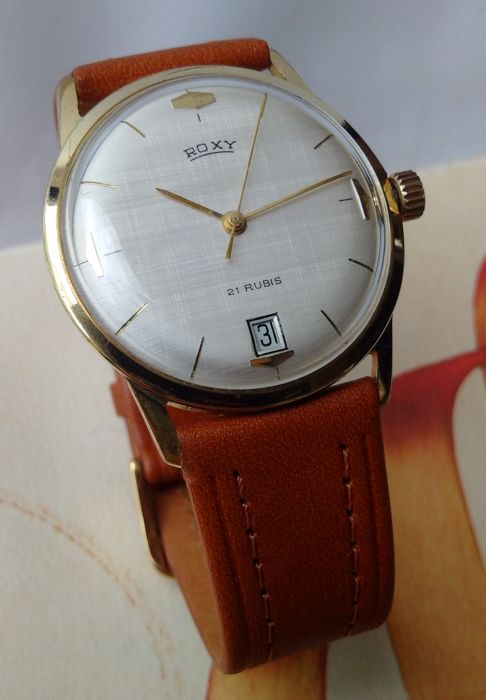 Roxy Dato - French school - men's watch - 1950s/60s