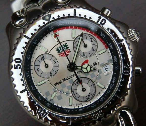 TAG Heuer West McLaren Mercedes limited edition 98