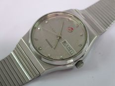 Rado 'Voyager' model no. 636.3321.4 – Gents' automatic day/date Swiss wristwatch – circa 1960/70s