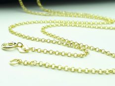 14 K Yellow Gold Chain - 45 cm