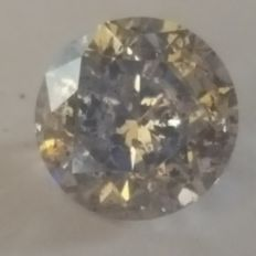 0.54ct Light Brown diamond. 3VG. No reserve price