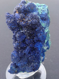 Very bright Azurite - 11 x 5 x 2cm - 200 gm