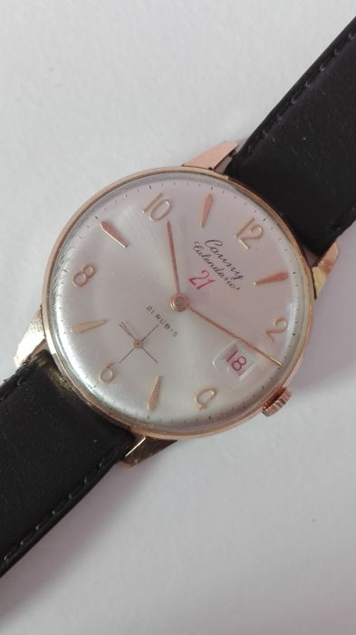 Cauny Prima – Men's watch – from the 50s