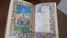 I Trionfi del Petrarca - reproduction of the illuminated manuscript - 2006
