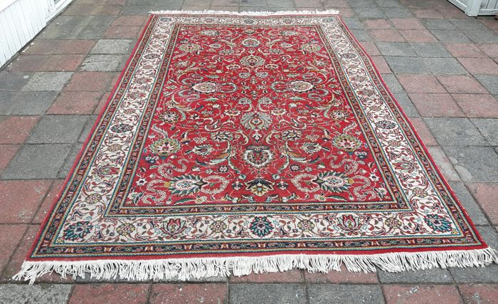 Very Beautiful Hand-knotted Persian - Kashan 300cm x 190cm! Signed Kashan!