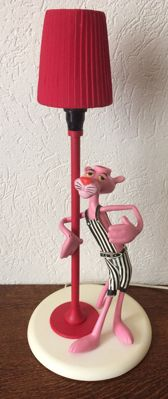 Linea Zero - Pink Panther lamp, 1983, Italy
