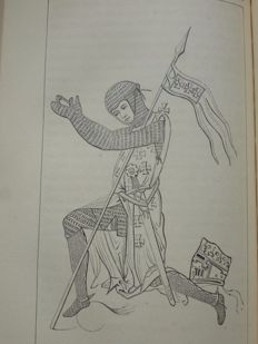 Chivalry; John Hewitt - Ancient Armour and Weapons in Europe - 3 volumes - 1855/1860