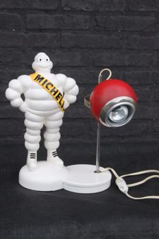 Michelin Bibendum table lamp - 35 cm height -  1970s