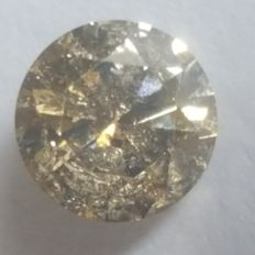 0.71ct Fancy Vivid Brown. EX/EX/EX. Very low reserve price
