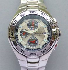 Seiko Chronograph Alarm - Men's Wristwatch