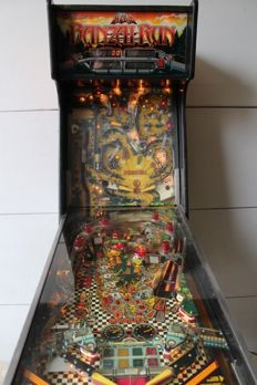 WILLIAMS BANZAI RUN Pinball machine