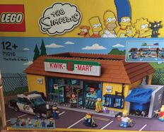 The Simpsons - 71016 - Kwik-E-Mart