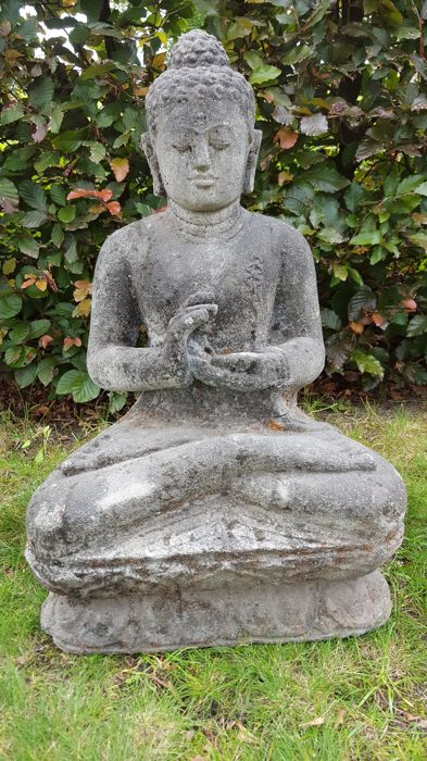 Stone Buddha - Indonesia - Late 20th century