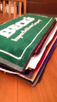 Collection of bar towels