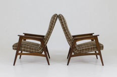 Designer unknown - Pair of vintage crapauds