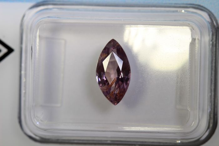 Purplish Pink Sapphire - 1.52 ct - No Reserve Price