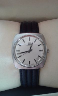 Zenith vintage '70s men's wristwatch