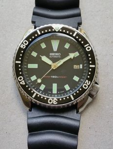 Seiko 7002-7000 42mm Diver Watch Vintage 1985-1995