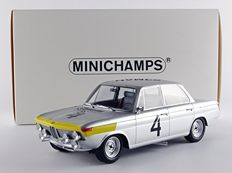 Minichamps - Scale 1/18 - BMW 1800 TiSa #4 Winners 24H Spa 1965