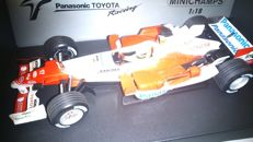 Minichamps - Scale 1/18 - Panasonic Toyota Racing TF105 - Ralf Schumacher