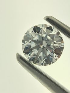 0.30CT D/VS1 HRD Certified round brilliant cut natural diamond