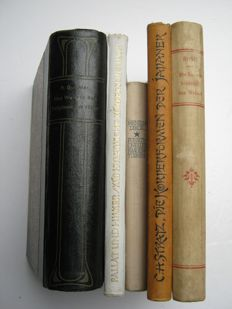 """Antiquarian erotica; Lot with 5 """"Studies"""" about the woman - 1901/1925"""