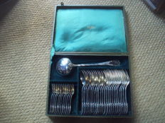 37 piece silverware set (Christofle silversmiths) 20th century
