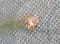 0.73 ct Fancy Vivid Brown SI1 Diamant - IGL-certificaat
