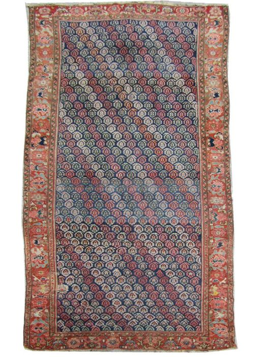 Large and very old Persian carpet from the Northwest of Iran - Kurdish - Handmade - 165 x 330 cm.